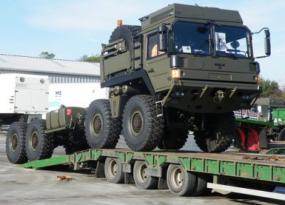 Military Equipment Transport