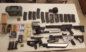 Read more about the article An Arsenal with Over 500 Rifles Seized from an Agua Dulce House