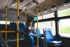 los angeles election bus train